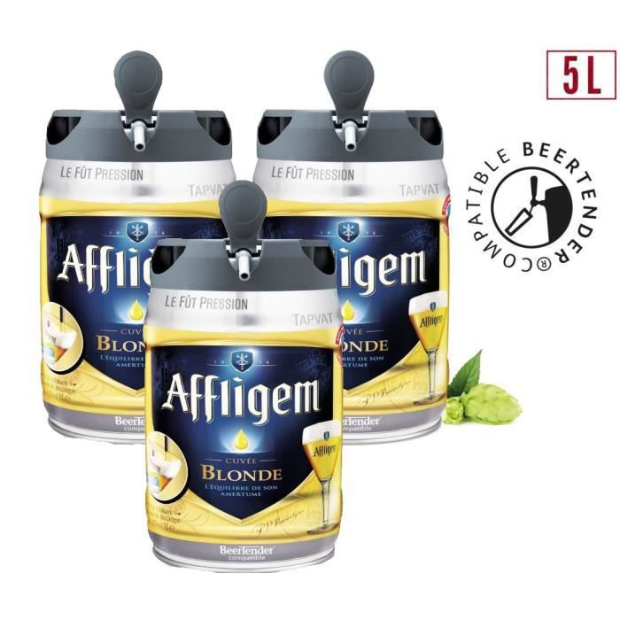 BIÈRE 2 achetés + 1 offert - Affligem - Fût 5L compatibl