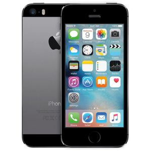 SMARTPHONE APPLE iPhone 5S 16 Go Gris 4G
