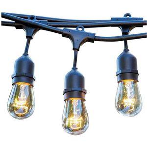 GUIRLANDE D'EXTÉRIEUR LUMISKY Guirlande décorative vintage 10 ampoules à