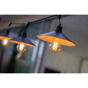 GUIRLANDE D'EXTÉRIEUR LUMISKY Guirlande décorative vintage - 10 ampoules