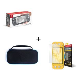 SORTIE CONSOLE NINTENDO SWITCH Nintendo Switch Lite Grise + Housse Switch Lite +