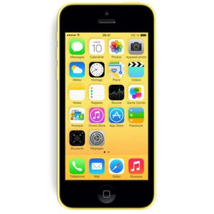 SMARTPHONE APPLE iPhone 5C 32 Go Jaune 4G