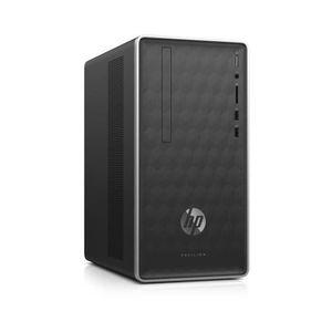 UNITÉ CENTRALE  HP PC de Bureau 590-a0049nf - AMD E2-9000 - RAM 4