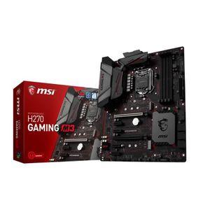 CARTE MÈRE MSI Carte mère H270 GAMING M3 - Socket LGA 1151 -