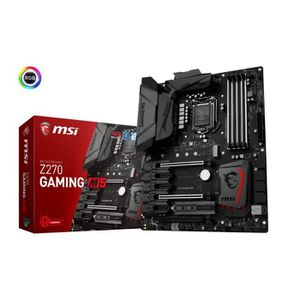 CARTE MÈRE MSI Carte mère Z270 GAMING M5 - Socket LGA 1151 -