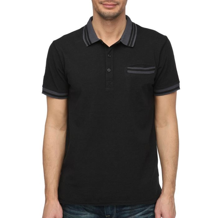 Polos Guess noirs homme gRcA5