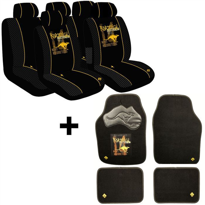 roadsign pack housses de si ges set de 4 tapis a achat vente housse de si ge roadsign. Black Bedroom Furniture Sets. Home Design Ideas