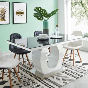 TABLE À MANGER SEULE RING Table à manger de 6 à 8 personnes style conte