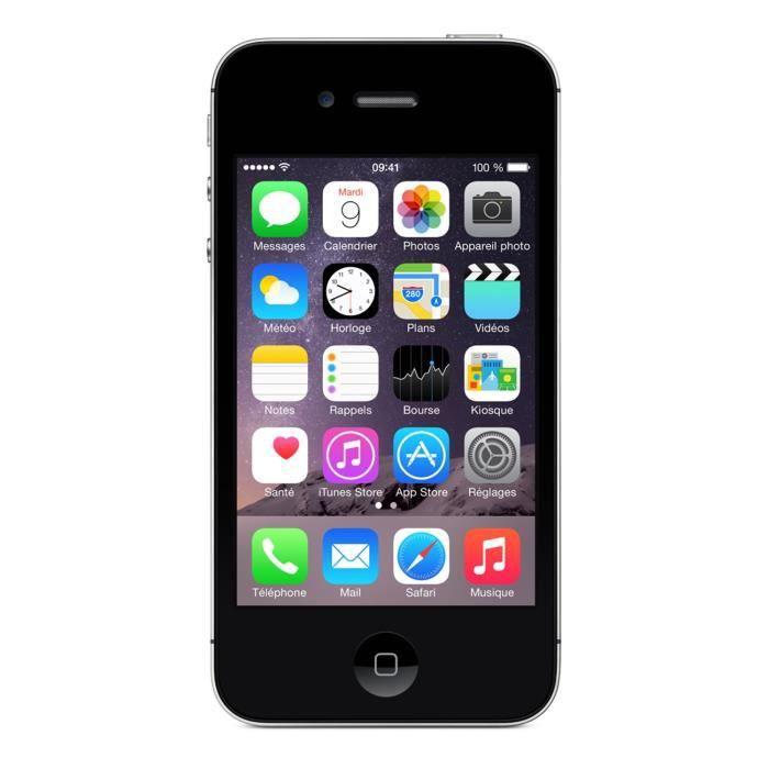 apple iphone 4s 8 go noir achat smartphone pas cher avis et meilleur prix cdiscount