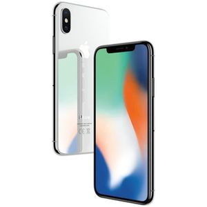 SMARTPHONE APPLE iPhone X Argent 256 Go