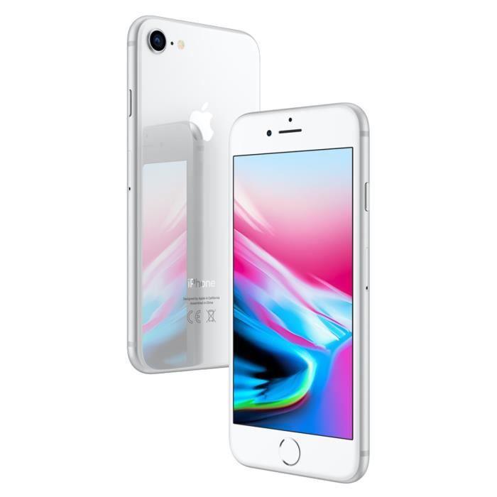 SMARTPHONE APPLE iPhone8 Argent 256 Go