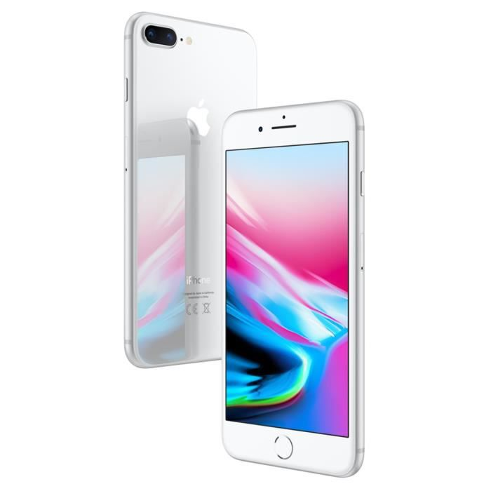 SMARTPHONE APPLE IPhone 8 Plus Argent 256 Go