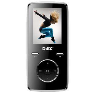 LECTEUR MP3 D-JIX M350 8GO - Lecteur MP3 8Go - Ecran LCD - Lec