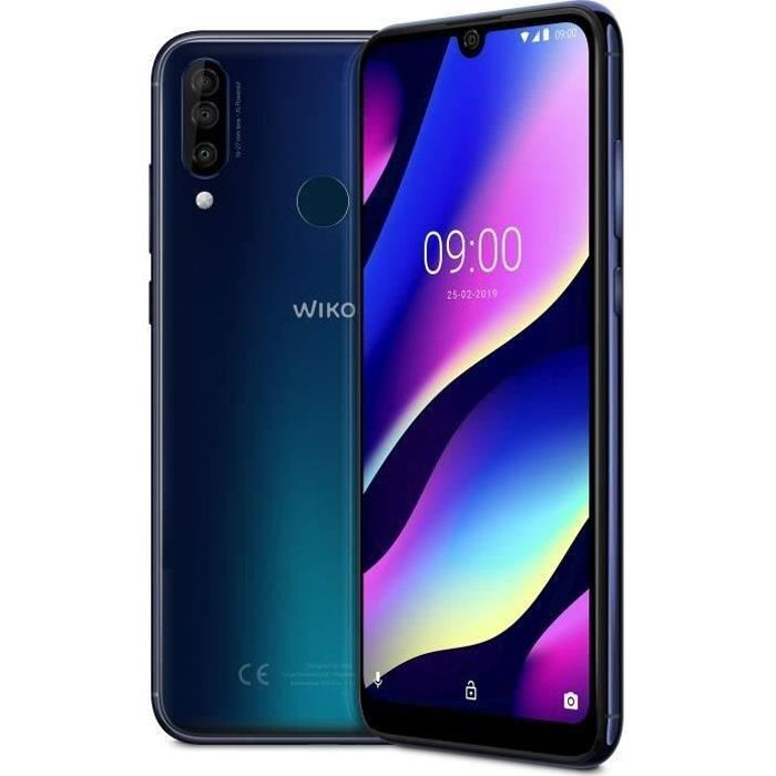 SMARTPHONE WIKO View 3 Night Blue 64 Go