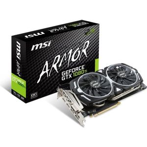 CARTE GRAPHIQUE INTERNE MSI Carte graphique GeForce® GTX 1080 TI ARMOR 11G