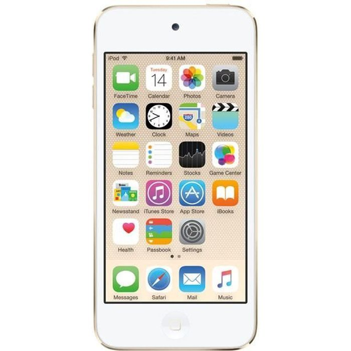 LECTEUR MP4 NEW APPLE iPod Touch 64Go Gold