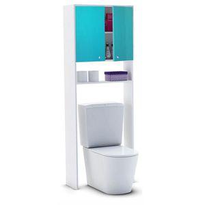 COLONNE - ARMOIRE WC CORAIL Berlioz Creations Meuble WC ou machine à la