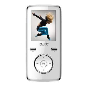 LECTEUR MP3 D-JIX M350 8GO Lecteur MP3 multimédia avec micro b