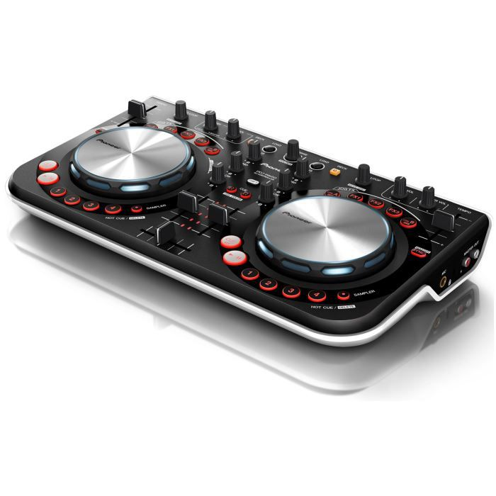 pioneer ddj wego blanc contr leur dj usb platine dj. Black Bedroom Furniture Sets. Home Design Ideas