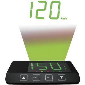 AFFICHAGE PARE-BRISE BEEPER Compteur vitesse autonome GPS - Tête Haute