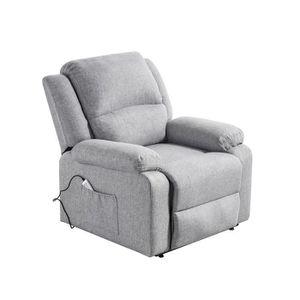 FAUTEUIL RELEVEUR Fauteuil releveur de relaxation RELAX - Tissu gris
