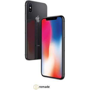 SMARTPHONE RECOND. iPhone X Gris 64Go Reconditionné à neuf Grade A+