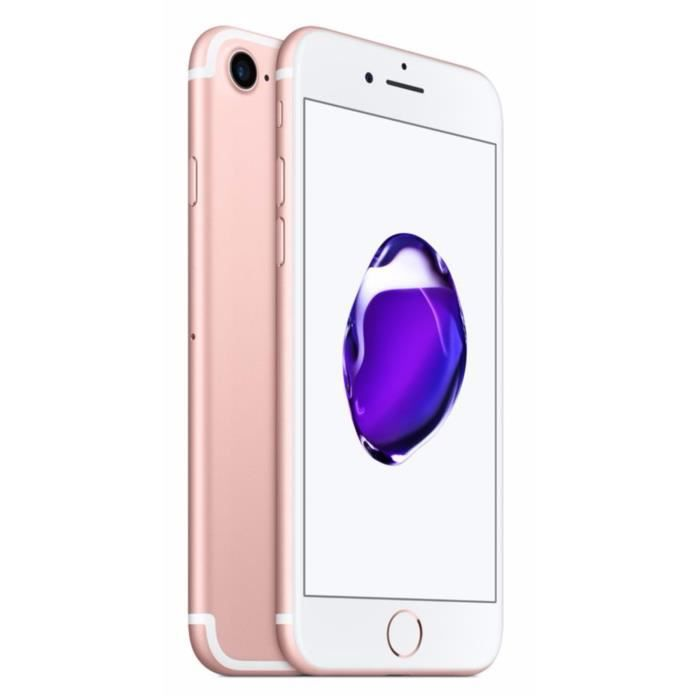 apple iphone 7 128 go rose or   achat smartphone pas cher