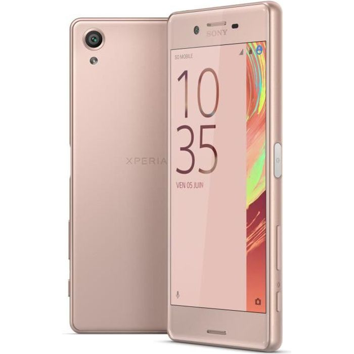 sony xperia x 32 go rose achat smartphone pas cher avis. Black Bedroom Furniture Sets. Home Design Ideas