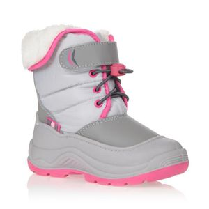 APRES SKI - SNOWBOOT WINTER-GRIP Après-ski - Enfant - Gris / Rose