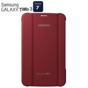 HOUSSE TABLETTE TACTILE Samsung Stand pouch Galaxy Tab 3 7''Rouge