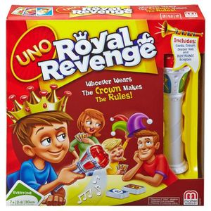 JEU SOCIÉTÉ - PLATEAU UNO Royal Revenge
