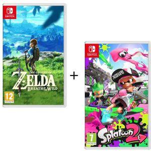 JEU NINTENDO SWITCH Pack 2 jeux Switch : The Legend of Zelda : Breath