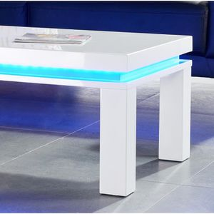 table basse led table basse lumineuse pas cher. Black Bedroom Furniture Sets. Home Design Ideas