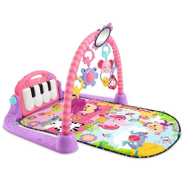 fisher price tapis piano rose achat vente tapis veil. Black Bedroom Furniture Sets. Home Design Ideas