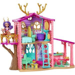 MAISON POUPÉE ENCHANTIMALS - jouet La Maison de Danessa Biche &