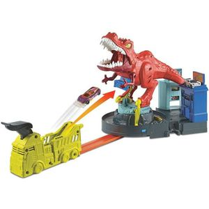 UNIVERS MINIATURE HOT WHEELS City - T-Rex en Furie - 5 ans et +