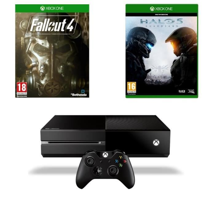Xbox one 1 to fallout 4 3 halo 5 achat vente console xbox one nouv xbox one fallout - What consoles will fallout 4 be on ...