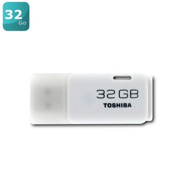 toshiba transmemory 32go cl usb blanc achat vente cl usb toshiba transmemory 32go blanc. Black Bedroom Furniture Sets. Home Design Ideas