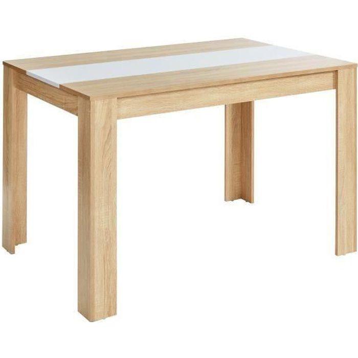 TABLE À MANGER SEULE DAMIA Table à manger de 4 à 6 personnes style cont