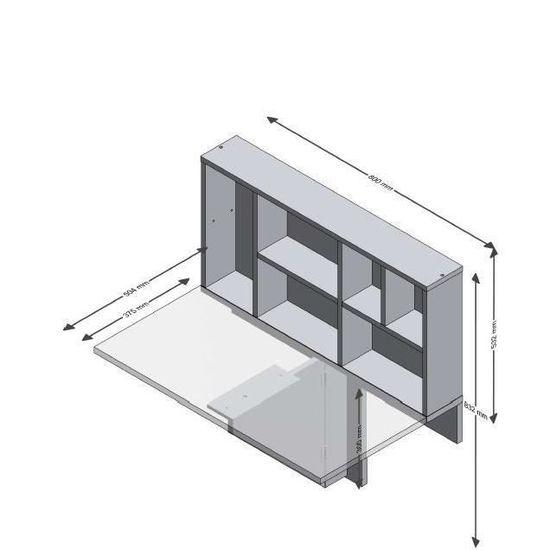 80 cm pliante blanc l classique Table L 1 51 manger décor et x ARTA personne chêne à Tl1Kc3FJ