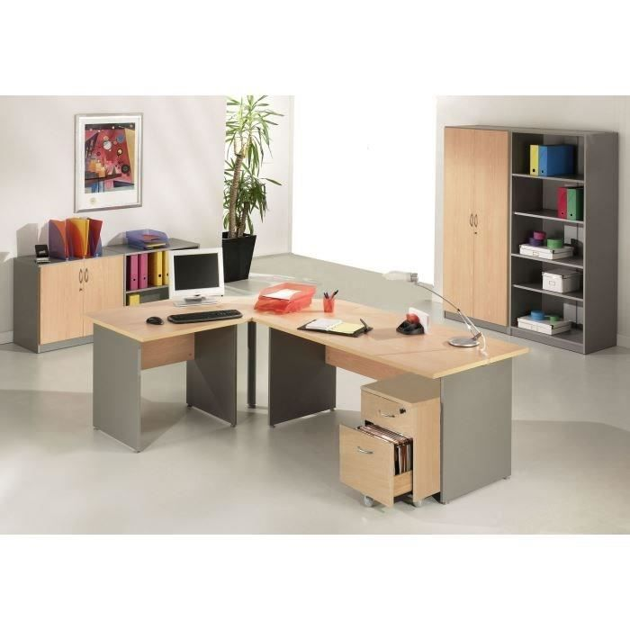 bureau professionnel achat vente bureau professionnel pas cher cdiscount. Black Bedroom Furniture Sets. Home Design Ideas