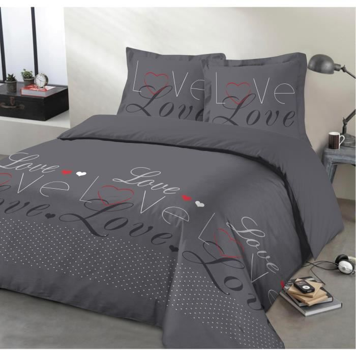 housse de couette new york 200x200 achat vente housse de couette new york 200x200 pas cher. Black Bedroom Furniture Sets. Home Design Ideas