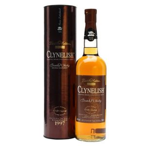 WHISKY BOURBON SCOTCH Clynelish distillers Edition