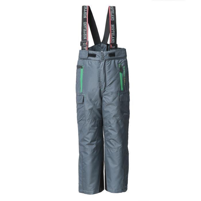 PANTALON DE SKI - SNOW NORTHLAND Pantalon de Ski Taho Enfant Garçon Gris