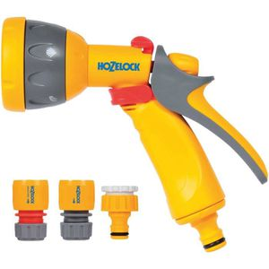 TUYAU - BUSE - TÊTE HOZELOCK Kit pistolet Multi Spray + Raccords