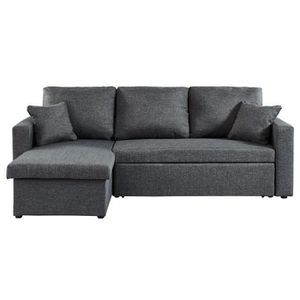 CANAPÉ - SOFA - DIVAN WILLIAM Canapé d'angle réversible convertible 3 pl