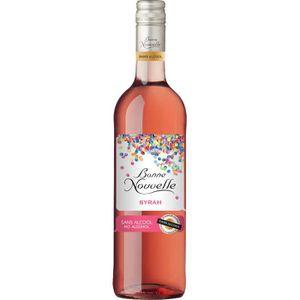 Apéritif à base de vin Bonne Nouvelle - Syrah - Rosé - Boisson à Base de
