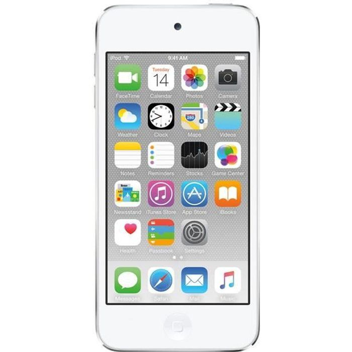 LECTEUR MP4 NEW APPLE iPod Touch 16Go White & Silver