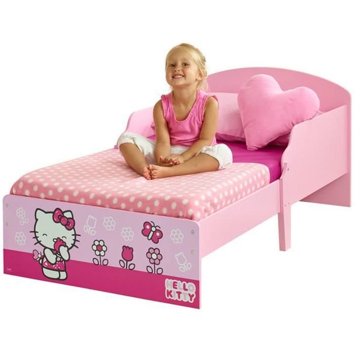 hello kitty lit enfant 70 x 140 cm achat vente. Black Bedroom Furniture Sets. Home Design Ideas