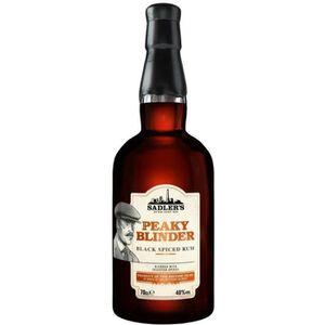 RHUM Peaky Blinder - Black Spiced Rum - 40% - 70 cl